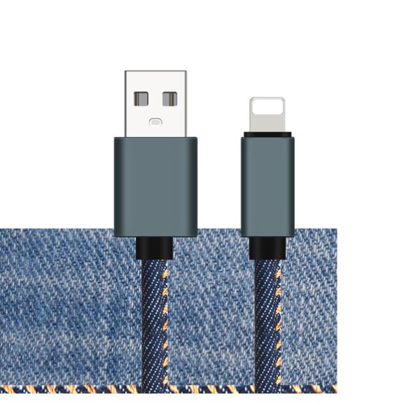 کابل شارژر ایفون مدل جین SKK کابل اپل usb به لایتنینگ SKK Best Apple Iphone Charger Cable
