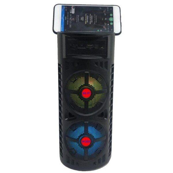 اسپیکر بلوتوثی قابل حمل مدل HF-S630 اصلی امکان فلش خور AUX و رم خور اسپیکر قابل حمل مدل OUTDOOR WIRELESS Bluetooth Speaker MODEL HF-S630