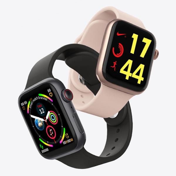 ساعت هوشمند مدل T500 PLUS ساعت طرح اپل واچ ساعت تی 500 پلاس ساعت مچی هوشمند مدل T500 PLUS SMART WATCH