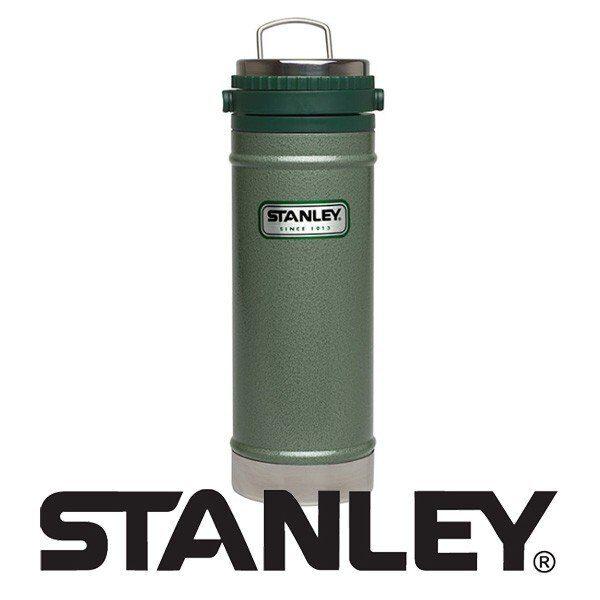 فرنچ پرس،قهوه ساز، ماگ و فلاسک کوهنوردی استنلی 470 میلی لیتر ارسال رایگان Stanley CLASSIC TRAVEL MUG FRENCH PRESS 0.470L