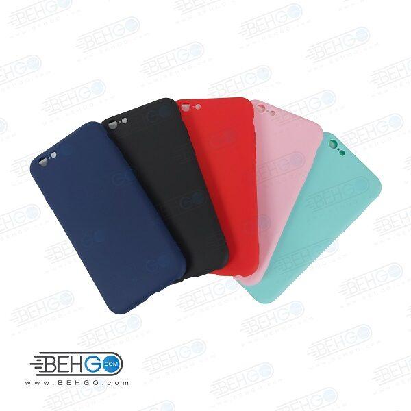 قاب گوشی ایفون 6 اس و ایفون 6 جی کاور اپل 6 مناسب گوشی matte TPU case for iphone 6G / iphone 6S