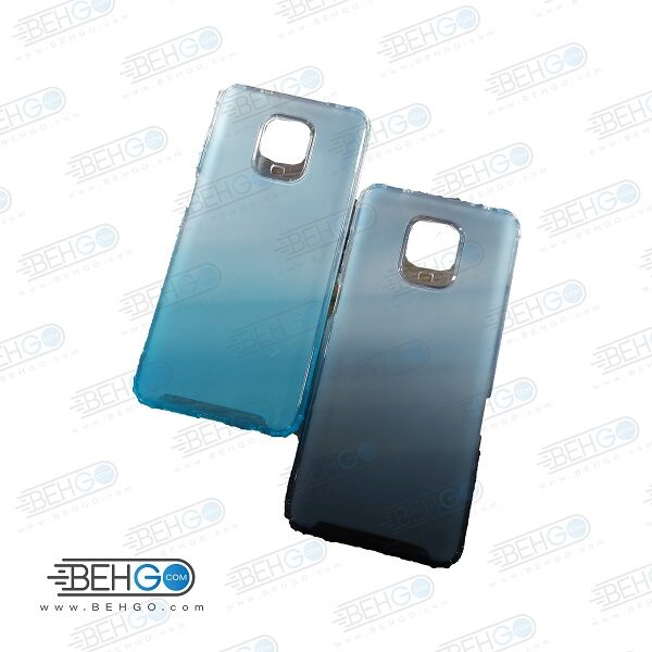 قاب گوشی شیائومی ردمی نوت 9 پرو کاور شیائومی ردمی نوت 9 اس گارد ژله ای محافظ جدید 2 رنگ مناسب گوشی New 2 Color CASE COVER For Xiaomi Redmi Note 9S/Redmi Note 9 Pro