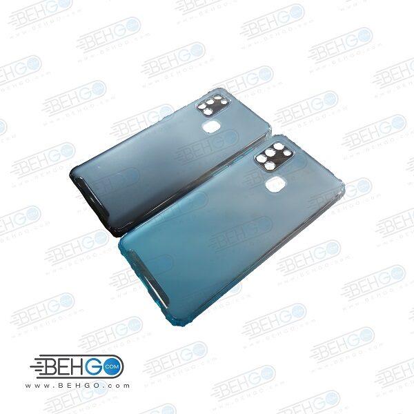 قاب گوشی A21S کاور A21S قاب محافظ لنز دار سامسونگ A21S گارد مدل جدید 2 رنگ مناسب گوشی موبایل سامسونگ New 2 Color CASE COVER For Samsung Galaxy A21S