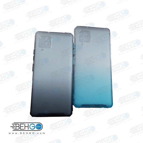 قاب گوشی A42 کاور A42 قاب محافظ لنز دار سامسونگ A42 گارد مدل جدید 2 رنگ مناسب گوشی موبایل سامسونگ New 2 Color CASE COVER For Samsung Galaxy A42