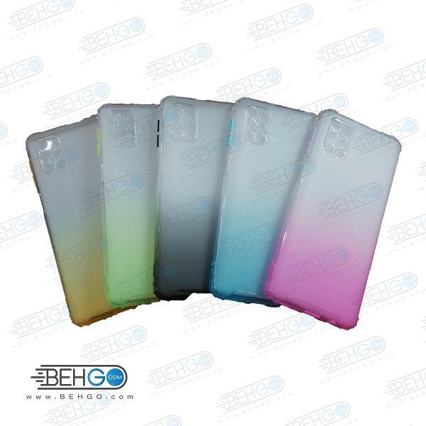 قاب گوشی M31S کاور M31S قاب محافظ لنز دار سامسونگ M31S گارد مدل جدید 2 رنگ مناسب گوشی موبایل سامسونگ New 2 Color CASE COVER For Samsung Galaxy M31S