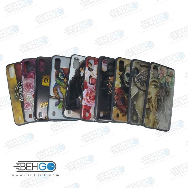قاب A01 کاور گوشی سامسونگ a01 مدل طرح جدید دخترانه و پسرانه محافظ گارد گوشی سامسونگ New Design Case For Samsung A01