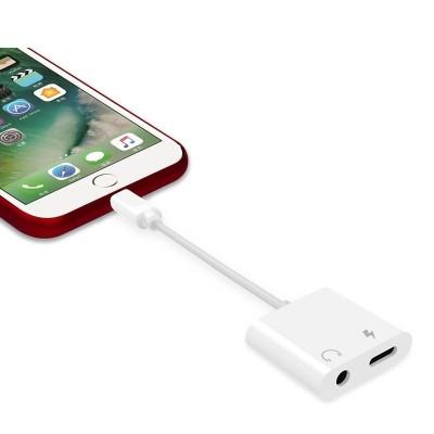 کابل تبدیل لایتنینگ به aux اپل رابط شارژر و هندزفری ایفون X-HANZ HD-A700 Adapter Apple  Iphone 7/8/XS Max/ 11 Pro Max/12 Pro