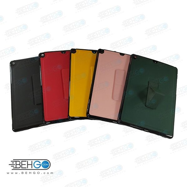 قاب آیپد 10.2 اینچ 2020 اپل کاور ایپد 8 و ایپد 7 قاب مدل رنگی با هولدر استند پایه نگهدارنده آیپد 8 مدل 10.2 کاور Stand Cover Case for Apple Ipad 8 2020 10.2