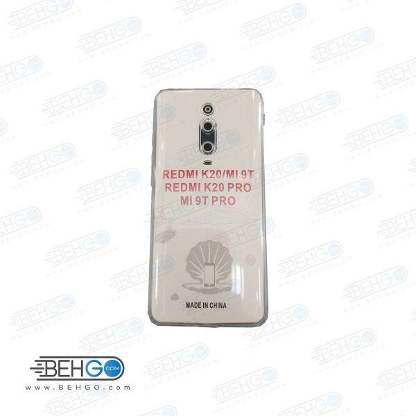 قاب ام ای نه تی ژله ای شفاف و بدون رنگ با محافظ لنز دوربین گوشی شیائومی Mi9t pro کاور Clear Cover Camera Protection Case for Xiaom K20/K20 pro/ Mi 9t