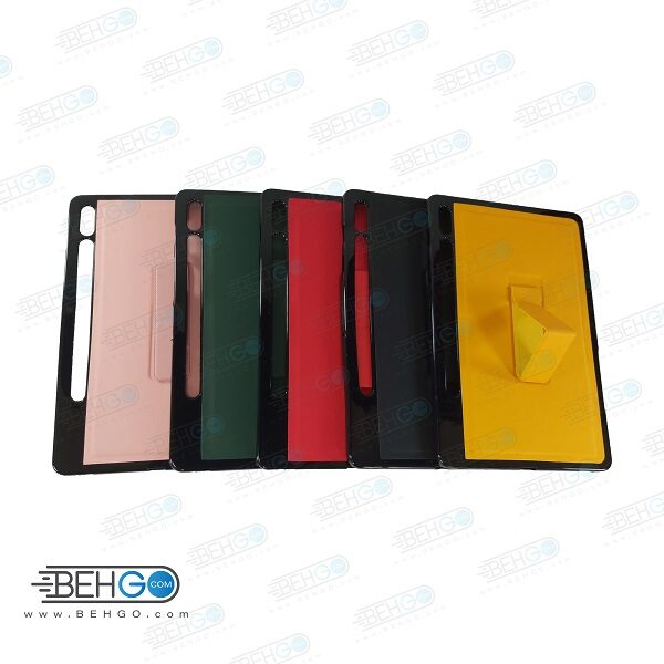 قاب تبلت سامسونگ S7 کاور مدل رنگی با هولدر استند پایه نگهدارنده تبلت سامسونگ گلکسی تب S7 کاور Stand Back Cover Case Tablet Galaxy Tab S7 T870/T875