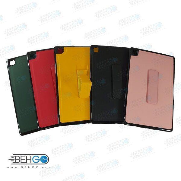 قاب تبلت سامسونگ T505 کاور مدل رنگی با هولدر استند پایه نگهدارنده تبلت A7 مدل T505 سایز 10.4 اینچ کاور Stand Back Cover Case Samsung Galaxy Tab A7 10.4 T505