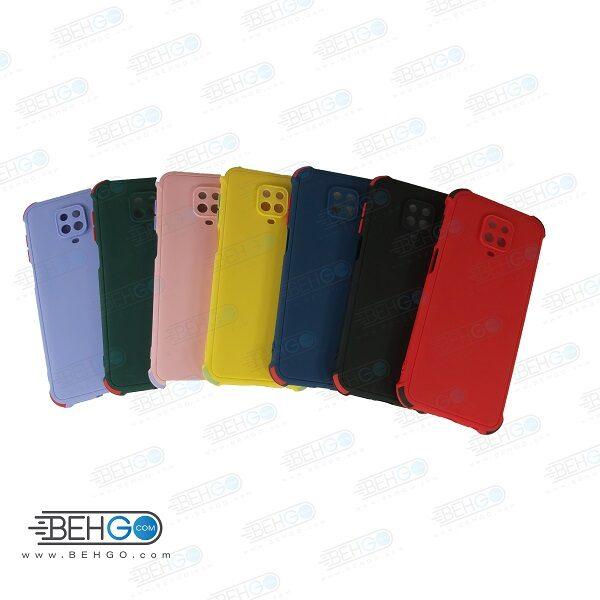 قاب ردمی نوت 9 پرو کاور مدل ژله ای دکمه رنگی محکم ضد ضربه با محافظ لنز دوربین گوشی شیائومی ردمی نوت 9 اس گارد محافظ قاب Camera Cover color key Case for Xiaomi Redmi Note 9S /Redmi Note 9 Pro