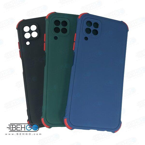 قاب هواوی Nova 7i کاور مدل ژله ای دکمه رنگی محکم ضد ضربه با محافظ لنز دوربین گوشی نوا 7 ای گارد محافظ قاب Camera Cover color key Case for Huawei P40 Lite / Nova 7i