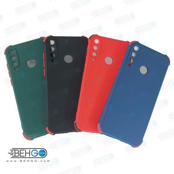 قاب هواوی Y6P کاور مدل ژله ای دکمه رنگی محکم ضد ضربه با محافظ لنز دوربین گوشی وای 6 پی 2020 گارد محافظ قاب Camera Cover color key Case for Huawei Y6P