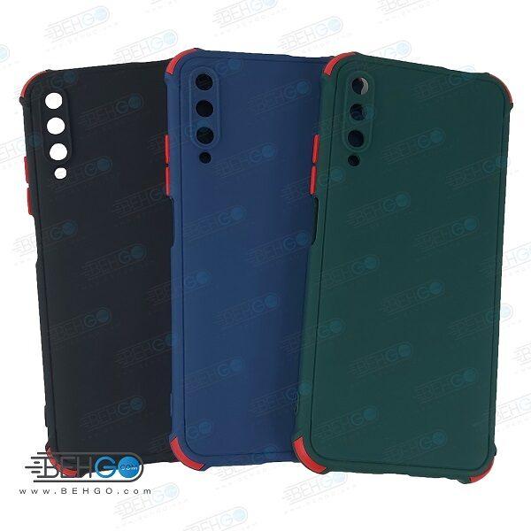 قاب هواوی Y9S کاور مدل ژله ای دکمه رنگی محکم ضد ضربه با محافظ لنز دوربین گوشی Y9S گارد محافظ قاب Camera Cover color key Case for Huawei Y9S