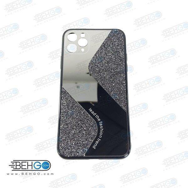 قاب گوشی ایفون 11 پرو مکس قاب فانتزی گوشی ایفون 11 پرو مکس سایز 6.5 اینچ گارد مدل جدید اکلیلی آینه ای مناسب گوشی موبایل اپل New Mirror glitter case For Apple Iphone 11 Pro Max