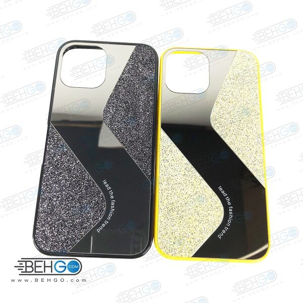 قاب گوشی ایفون 12 پرو مکس قاب فانتزی گوشی ایفون 12 پرو مکس سایز 6.7 اینچ گارد مدل جدید اکلیلی آینه ای مناسب گوشی موبایل اپل New Mirror glitter case For Apple Iphone 12 Pro Max