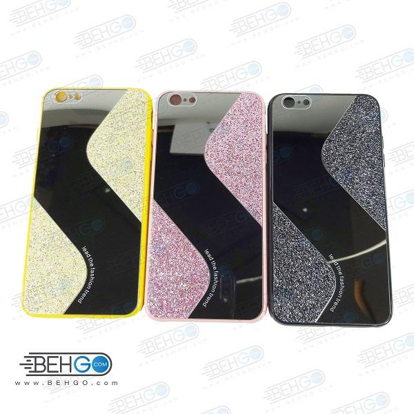 قاب گوشی ایفون 6 پلاس قاب فانتزی گوشی ایفون 6 پلاس گارد مدل جدید اکلیلی آینه ای مناسب گوشی موبایل اپل New Mirror glitter case For Apple Iphone 6S Plus / Iphone 6 Plus