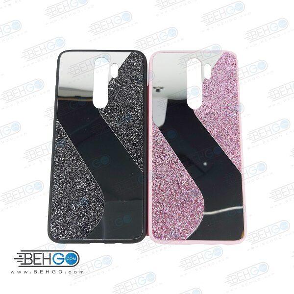 قاب گوشی شیائومی ردمی نوت 8 پرو قاب فانتزی گوشی ردمی نوت 8 پرو گارد مدل جدید اکلیلی آینه ای مناسب گوشی موبایل شیائومی New Mirror glitter case For Xiaomi Redmi Note 8 Pro