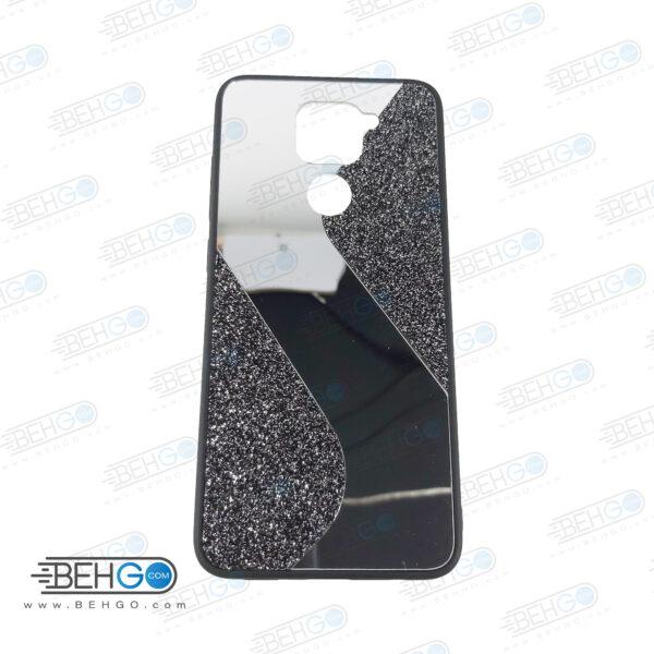 قاب گوشی شیائومی ردمی نوت 9 قاب فانتزی گوشی ردمی نوت 9 گارد مدل جدید اکلیلی آینه ای مناسب گوشی موبایل شیائومی New Mirror glitter case For Xiaomi Redmi Note 9