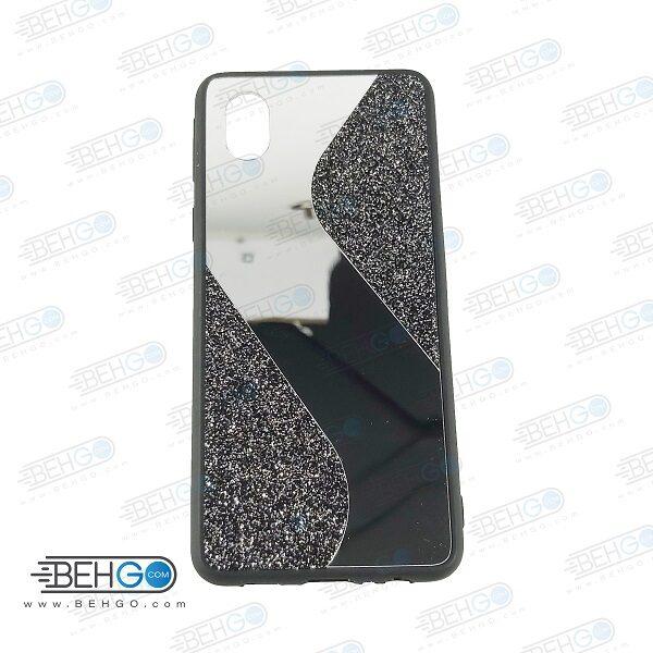 قاب گوشی A01 Core قاب فانتزی سامسونگ A01 Core گارد اکلیلی آینه ای مناسب New Mirror glitter case For Samsung Galaxy A01 Core