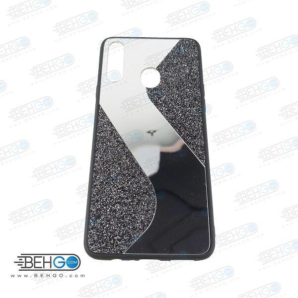 قاب گوشی A20S قاب فانتزی سامسونگ A20S گارد مدل جدید اکلیلی آینه ای مناسب گوشی موبایل سامسونگ New Mirror glitter case For Samsung Galaxy A20S