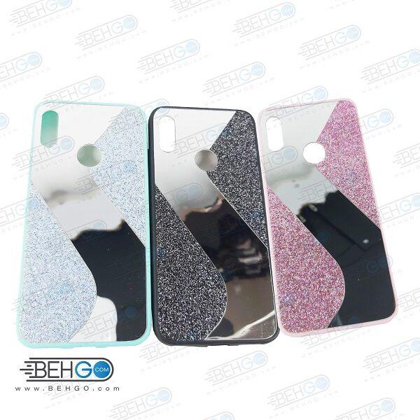 قاب گوشی Y6S قاب فانتزی هواوی وای 6 پرایم 2019 گارد مدل جدید اکلیلی آینه ای مناسب گوشی موبایل هانر New Mirror glitter case For Huawei Y6S/Y6 Prime 2019/Y6 2019 /Honor 8A