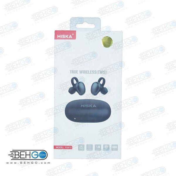 هندزفری بلوتوث هیسکا مدل Hiska FX415 True Wireless TWS