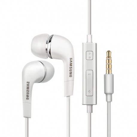 هندزفری سامسونگ هندزفری سامسونگ اورجینال اصلی مدل Samsung EO-EG920LW Wired 3.5mm Headset with Microphone S5