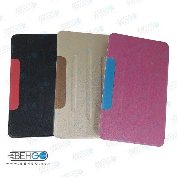 کیف تبلت هواوی M5 Lite قاب مدل فولیو کاور مدیا پد M5 Lite 8.0 مدل 8 اینچ هواوی قاب Folio Cover For MediaPad M5 Lite 8.0 JDN2-L09