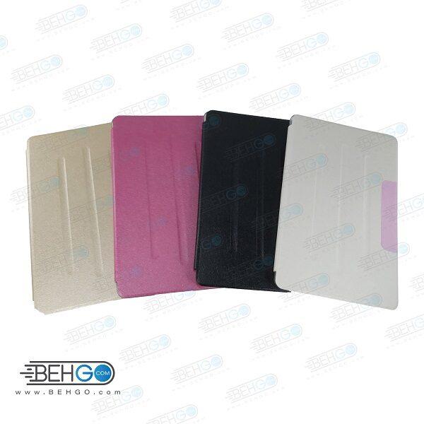 کیف S6 lite قاب تبلت سامسونگ اس 6 لایت کیف کلاسوری فولیو کاور S6 Lite مناسب تبلت Stand Back Cover Case Tablet Samsung Galaxy S6 Lite 10.4 (2020) SM-P615 / P610
