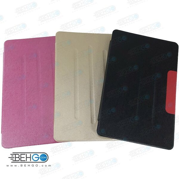 کیف T505 قاب تبلت سامسونگ A7 کیف کلاسوری فولیو کاور T505 مناسب تبلت Stand Back Cover Case Samsung Galaxy Tab A7 10.4 T505
