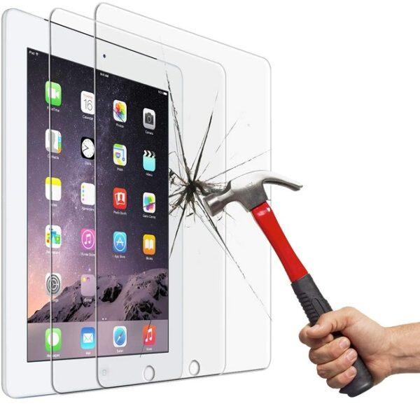 گلس ایپد 4 ، 3 ، 2 محافظ صفحه نمایش شیشه ای آیپد Tempered Glass Screen Protector for Apple iPad 2/3/4