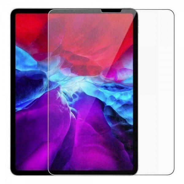 گلس iPad Pro 12.9 محافظ صفحه نمایش ایپد 12.9 مدل 2020 ضد ضربه آیپد پرو 12.9 اینچ گلس Glass Screen Protector Apple iPad Pro 12.9