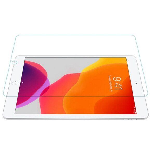 گلس ipad 10.2 محافظ صفحه نمایش شیشه ای آیپد 10.2 اینچ اپل مدل Tempered Glass Guard for apple iPad 10.2 inch