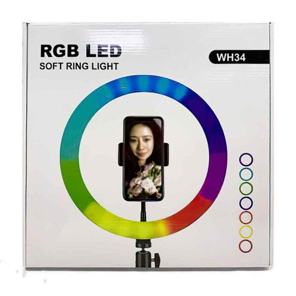 رینگ لایت عکاسی Ring Light WH32
