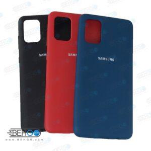 قاب گوشی سامسونگ A71 قاب سیلیکونی آ هفتاد یک گلکسی مدل زیر بسته کاور A71 محافظ A71 سیلیکونی Best Silicone Cover Case for Samsung Galaxy A71