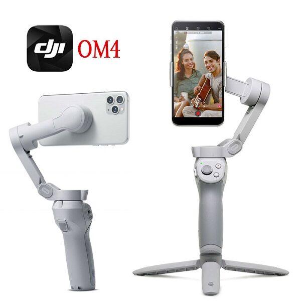 گیمبال موبایل لرزشگیر دوربین موبایل پایه نگهدارنده گوشی موبایل برند اصلی دی جی آی مدل اسمو موبایل 4 DJI Osmo Mobile 4 Smartphone Gimbal