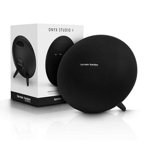 اسپیکر بلوتوثی قابل حمل هارمن کاردن مدل Onyx Studio 4 بلندگوHarman Kardon Onyx Studio 4 Portable Bluetooth Speaker