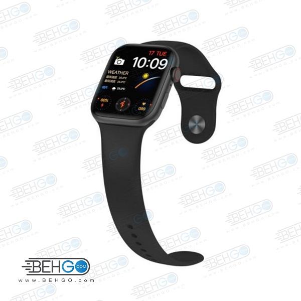 ساعت هوشمند مدل FK88 PRO ساعت طرح اپل واچ ساعت  FK88 PRO ساعت مچی هوشمند مدل FK88 PRO PLUS SMART WATCH