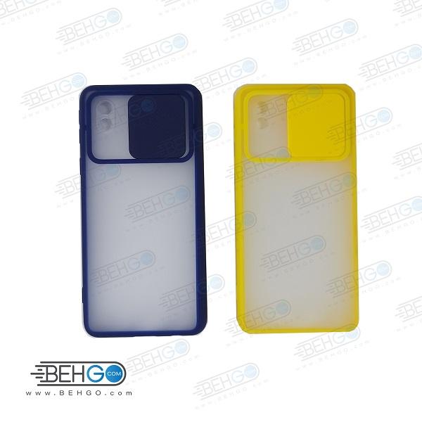 قاب   A3 Core  کاور پشت مات محافظ لنزدار کشویی گارد A3 Core با محافظ لنز دوربین گوشی سامسونگ Lens Slider Case For Samsung A3 Core