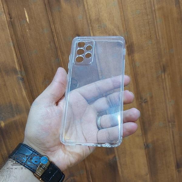 قاب A52 کاور ژله ای شفاف و بی رنگ با محافظ لنز دوربین گوشی سامسونگ Clear Cover Camera Protection Case for samsung A52 4G /A52 5G