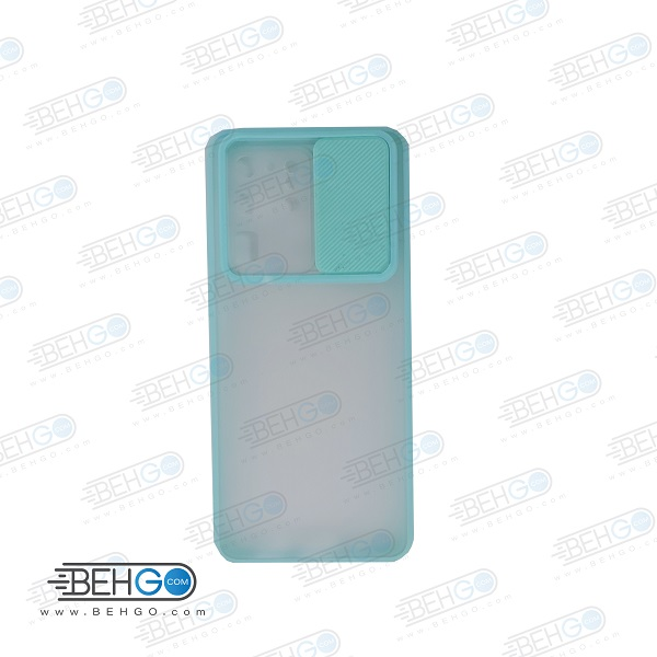 قاب S20 Ultra کاور پشت مات محافظ لنزدار کشویی گارد S20Utra با محافظ لنز دوربین گوشی سامسونگ Lens Slider Case For Samsung S20Ultra