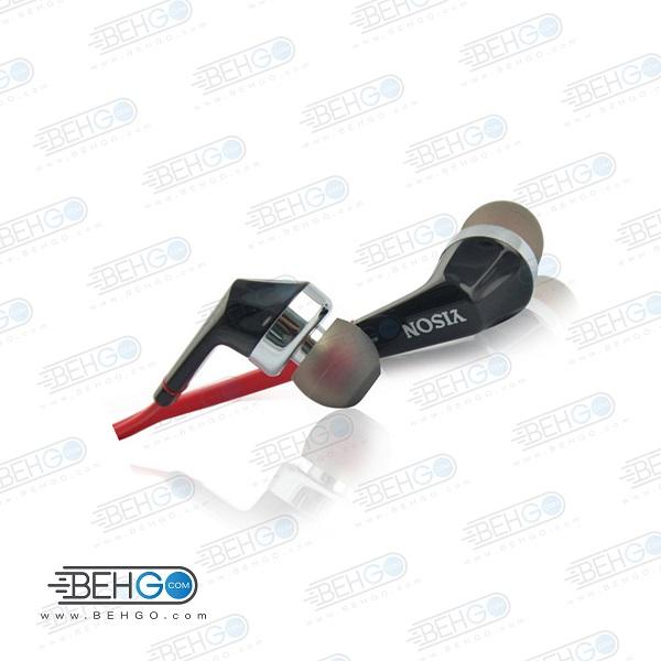 هدفون وایسون مدل S-660 هندزفرری با سیم برند Yison هدفون وایسون مدل Original Earphone Headphone Headset model S-660