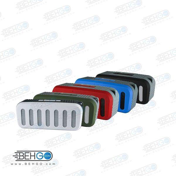 اسپیکر بلوتوثی فلش خور AUXخور رم خور قابل حمل با کیفیت NEW Rixing WIRELESS BLUETOOTH MODEL NR – 2013