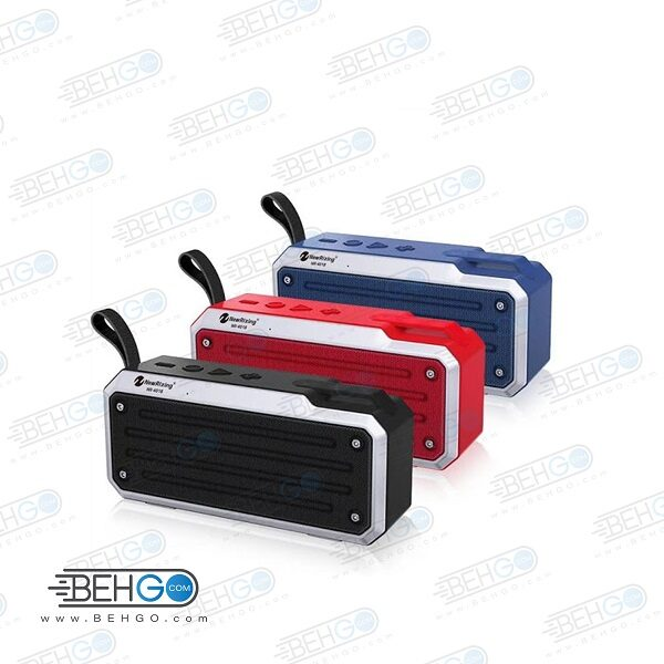 اسپیکر بلوتوثی فلش خور AUXخور رم خور قابل حمل با کیفیت NEW Rixing WIRELESS BLUETOOTH MODEL NR – 4018