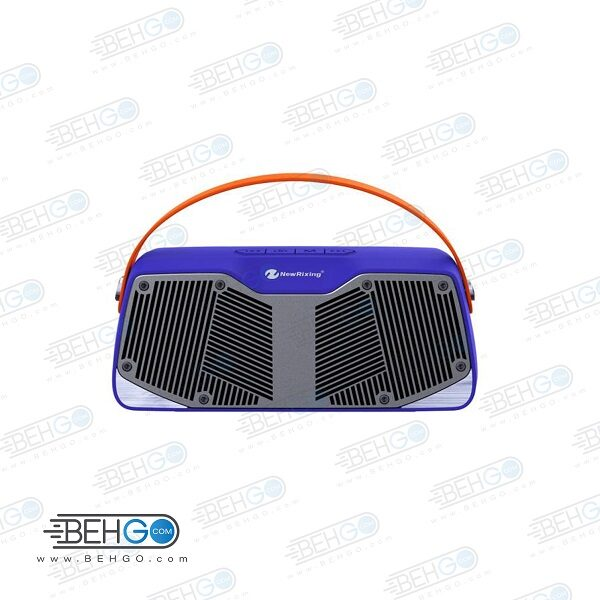 اسپیکر بلوتوثی فلش خور AUXخور رم خور قابل حمل با کیفیت NEW Rixing WIRELESS BLUETOOTH MODEL NR – 4021