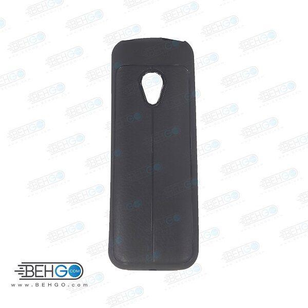 قاب نوکیا 125 کاور نوکیا 125 مدل 2020 طرح چرمی اتو فوکوس مناسب برای گوشی موبایل NOKIA 125 2020