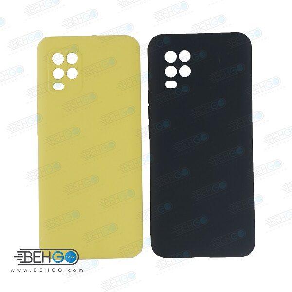 قاب Mi 10 lite کاور Mi 10 lite سیلیکونی مناسب Silicone Case For Xiaomi Mi 10 lite