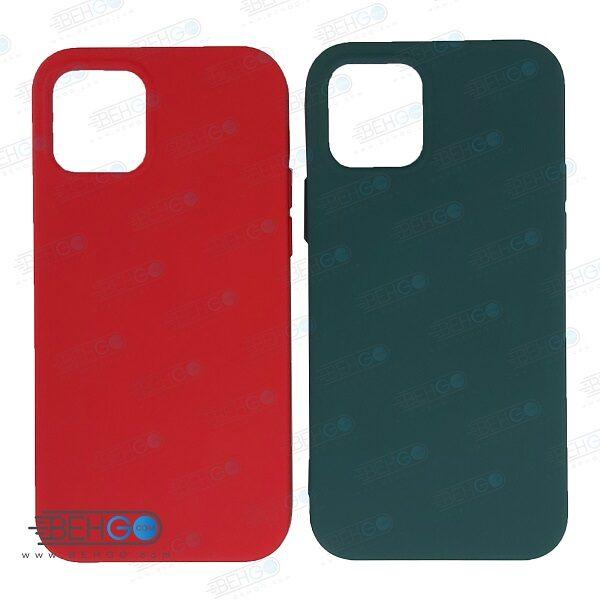 قاب iPhone 12 pro کاور با محافظ لنز دوربین گوشی ایفون Apple iPhone 12 pro گارد سیلیکونی  iPhone 12pro کاور محافظ آیفون دوازده پرو Silicone Case For Apple iPhone 12 Pro
